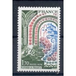 France 1978 - Y & T n. 2006 - France in bloom (Michel n. 2095)