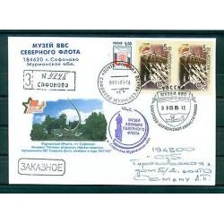 Russie - Russia - Enveloppe 2005 - Safonovo - Monument  - Aviation