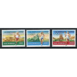 San Marino 1991 - Mi. n. 1474/1476 - Olympic Games Barcelona