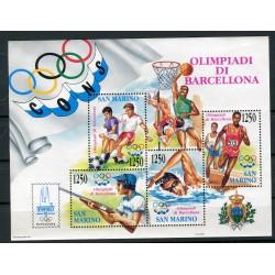 San Marino 1992 - Mi. n. Bl. 15 - Olimpiadi di Barcellona