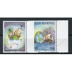 San Marino 1992 - Mi. n. 1508/1509 - EUROPA CEPT Scoperta dell'America
