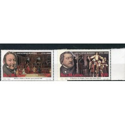 San Marino 1992 - Mi. n. 1491/1492 - Gioacchino Rossini