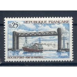 Francia  1968 - Y & T n. 1564 - Porto di Martrou  (Michel n. 1631)