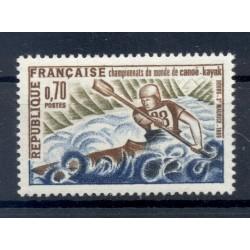 Francia  1969 - Y & T n. 1609 - Campionati del mondo di canoa - kayak  (Michel n. 1678)