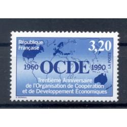 France 1990 - Y & T n. 2673 - OECD (Michel n. 2812)