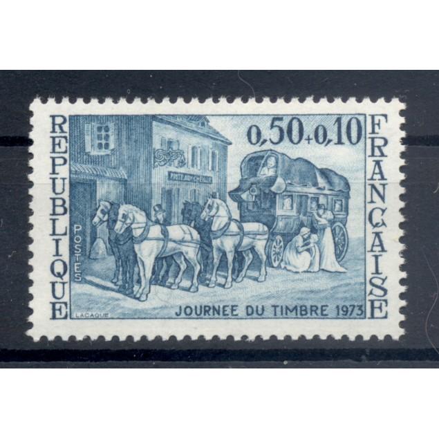France 1973 - Y & T n. 1749 - Stamp Day (Michel n. 1824)