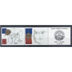 France 1981 - Y & T n. P2142A - Philexfrance '82  (Michel n. 2262/63)
