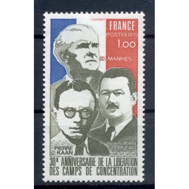 France 1975 - Y & T n. 1853 - Liberation of concentration camps (Michel n. 1932)