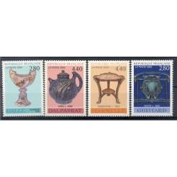 France 1994 - Y & T n. 2854/57 - Decorative Art  (Michel n. 3000/03)