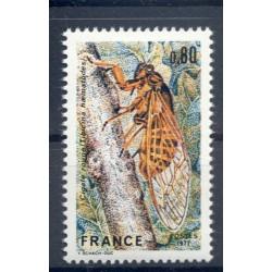 France 1977 - Y & T n. 1946 - Red cicada (Michel n. 2043)