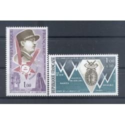 France 1974 - Y & T n. 1796/97 - Liberation (Michel n. 1875-80)