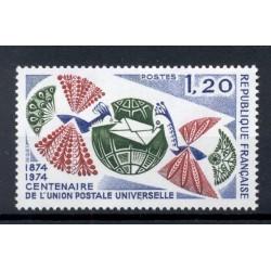 France 1974 - Y & T n. 1817 - U.P.U. (Michel n. 1887)