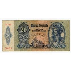HUNGARY - National Bank 1941 - 20 Pengo