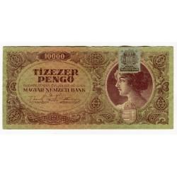 HUNGARY - National Bank Inflationary Era 1945 - 10.000 Pengo
