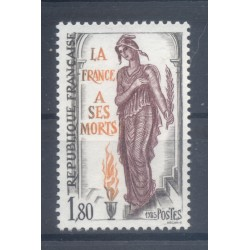 France 1985 - Y & T n. 2389 - France to its dead (Michel n. 2520)