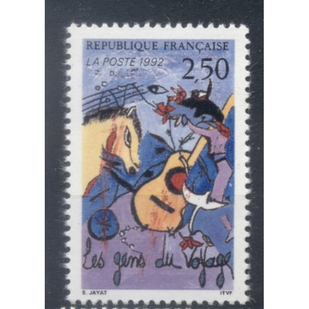 France 1992 - Y & T n. 2784 - Nomads (Michel n. 2932)