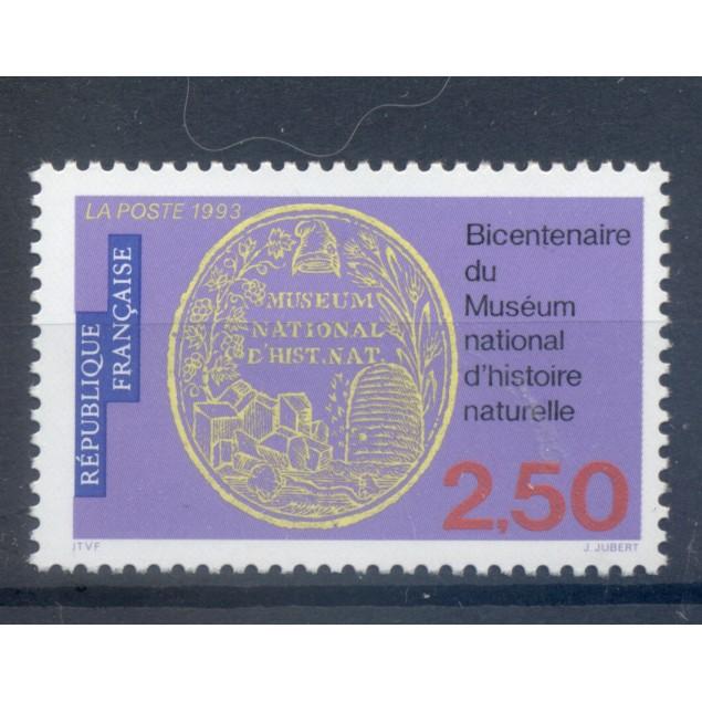 France 1993 - Y & T n. 2812 - National Museum of Natural History (Michel n. 2958)
