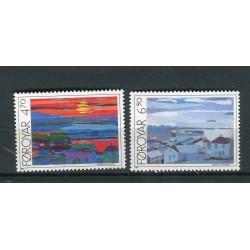 Îles Féroé 1987 - Mi. n. 160/161 - Tornshavn