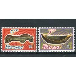 Îles Féroé 1989 - Mi. n. 184/185 - EUROPA CEPT Jeux d'Enfants