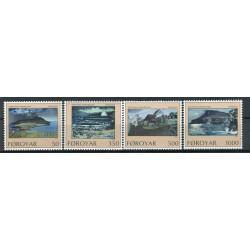 Îles Féroé 1990 - Mi. n. 207/210 - Île de Nolsoy