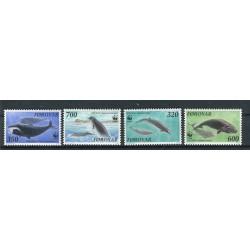 Faroe Islands 1990 - Mi. n. 203/206 - Sea Mammals