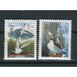 Iles Féroé 1991 - Mi. n. 221/222 - Oiseaux marins