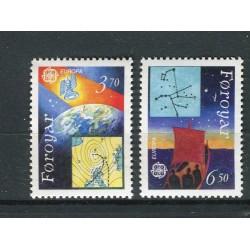 Faroe 1991 - Mi. n. 215/216 - EUROPA CEPT Space