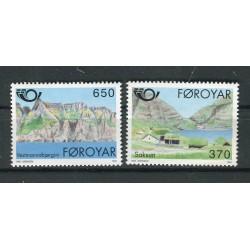Faroe 1991 - Mi. n. 219/220 - Tourism