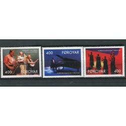 Iles Feroé 1993 - Mi. n. 243 A/245 A - Musique