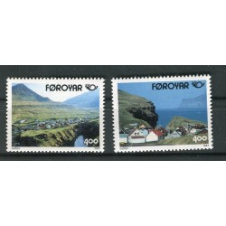 Îles Féroé 1993 - Mi. n. 246/247 - Tourisme