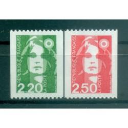 France 1991 - Y & T n. 2718/19 - Definitive