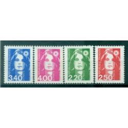 France 1991 - Y & T n. 2714/17 - Definitive
