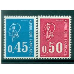 France 1971 - Y & T n. 1663/64 - Definitive