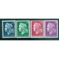 France 1966-69 - Y & T n. 1535/36B - Definitive