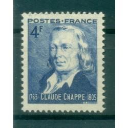 France 1943 - Y & T n. 619 - Claude Chappe  (Michel n. 630)