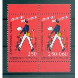 France 1993 - Y & T n. P2793A - Stamp Day (Michel n. 2939/40 x)