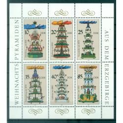 Germany - GDR 1987 - Y & T n. 2748/53 - Christmas Pyramids (Michel n. 3134/39)