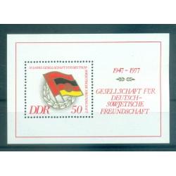 Germany - GDR 1977 - Y & T sheet n. 42 - DSF (Michel sheet n. 47)