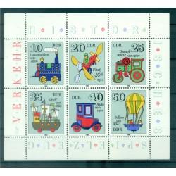 Germany - GDR 1980 - Y & T n. 2224/29 - Historical toys (Michel n. 2566/71)