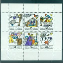 Germany - GDR 1974 - Y & T n. 1676/81 - Fairy Tales (Michel n. 1901/06)