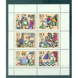 Germany - GDR 1967 - Y & T n. 1020/25 - Fairy Tales (Michel n. 1323/28)