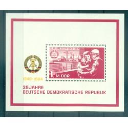 Allemagne - RDA 1984 - Y & T feuillet n. 76 - République Démocratique Allemande (Michel feuillet n. 78)