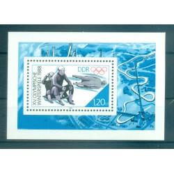 Germany - GDR 1988 - Y & T sheet n. 89 - Winter Olympics (Michel sheet n. 90)