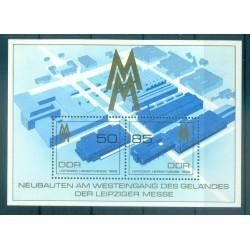 Allemagne - RDA 1989 - Y & T feuillet n. 98 - Foire d'automne de Leipzig (Michel feuillet n. 99)