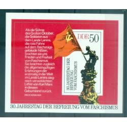 Allemagne - RDA 1975 - Y & T feuillet n. 37 - Libération (Michel feuillet n. 42)