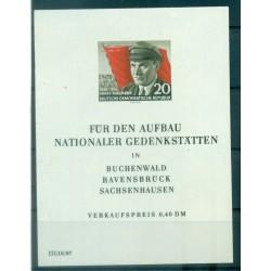 Allemagne - RDA 1956 - Y & T feuillet n. 8 - Ernst Thälmann (Michel feuillet n. 14)