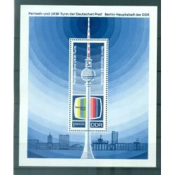 Allemagne - RDA 1969 - Y & T feuillet n. 25 - République Démocratique Allemande (Michel feuillet n. 30)