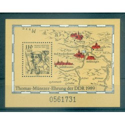 Allemagne - RDA 1989 - Y & T feuillet n. 96 - Thomas Müntzer (Michel feuillet n. 98)