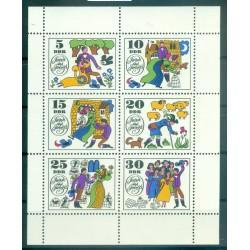 Germany - GDR 1969 - Y & T n. 1146/51 - Fairy Tales (Michel n. 1450/55)