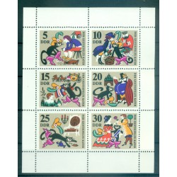Allemagne - RDA 1968 - Y & T n. 1122/27 - Contes populaires  (Michel n. 1426/31)